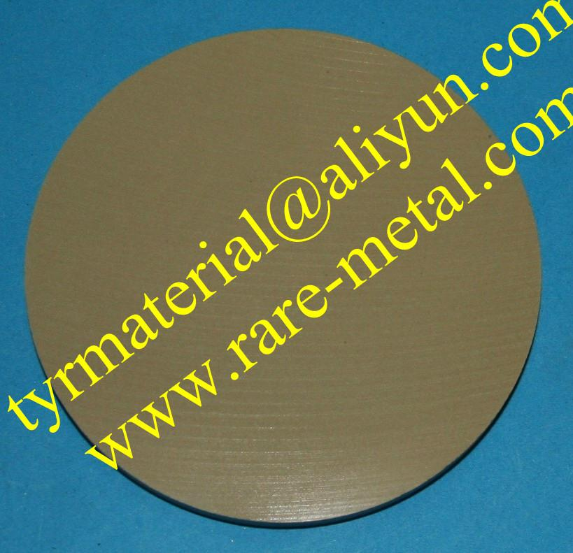 Aluminum Zinc oxide (AZO) sputtering targets CAS 1314-13-2 and and 1344-28-1 2