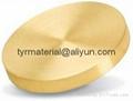 純黃金Au濺射靶材,蒸發鍍膜材
