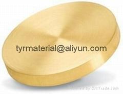 纯黄金Au溅射靶材,蒸发镀膜材料