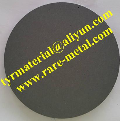 Silicon carbide SiC sputtering targets