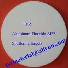 Aluminium fluoride AlF3 sputtering targets