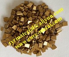 Gold-Gernermium AuGe alloy granules evaporation material (Hot Product - 1*)