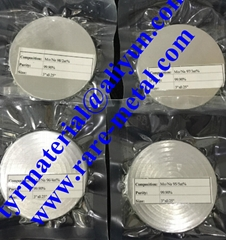 Molybdenum Sodium Mo-Na alloy sputtering targets