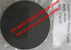 Manganese Germanium Mn-Ge alloy sputtering targets