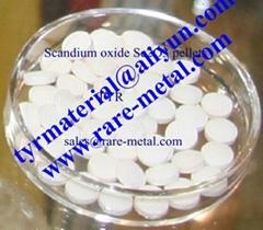 氧化鈧Sc2O3粉,靶材,蒸發材料