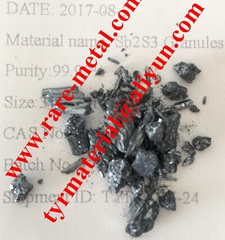 Antimony trisulfide Sb2S3 granules use in semiconductor CAS 1345-04-6