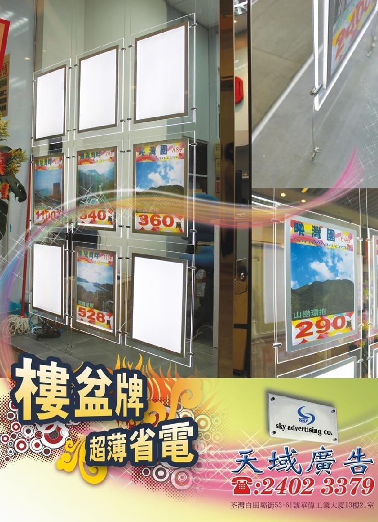 (7) 樓盆牌燈箱