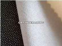 有紡斜紋襯布