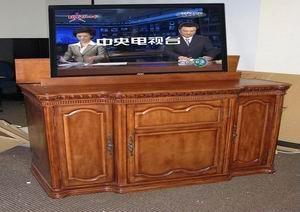 酒店床头电视升降