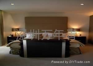 酒店床头电视机升降支架-上升