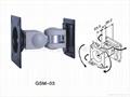 GSM-03 The liquid-crystal display arm