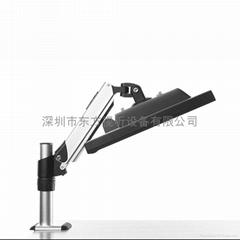 R68 液晶顯示器支架 萬向 旋轉昇降氣壓12~24 銀色