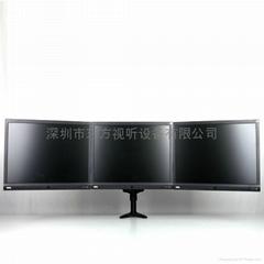 三屏 液晶电脑显示器支架