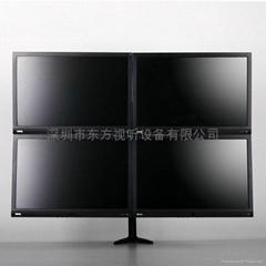 電腦液晶顯示器桌面支架 四屏 20至30寸