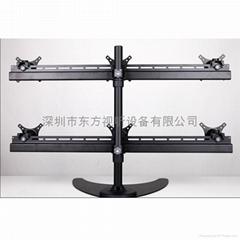 六屏 多屏 液晶電腦顯示器支架 14至19寸