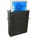 隱藏式液晶顯示器自動昇降支架 無紙化辦公電動支架  2