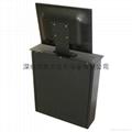 隱藏式液晶顯示器自動昇降支架 無紙化辦公電動支架  3