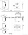 隱藏式液晶顯示器自動昇降支架 無紙化辦公電動支架  9