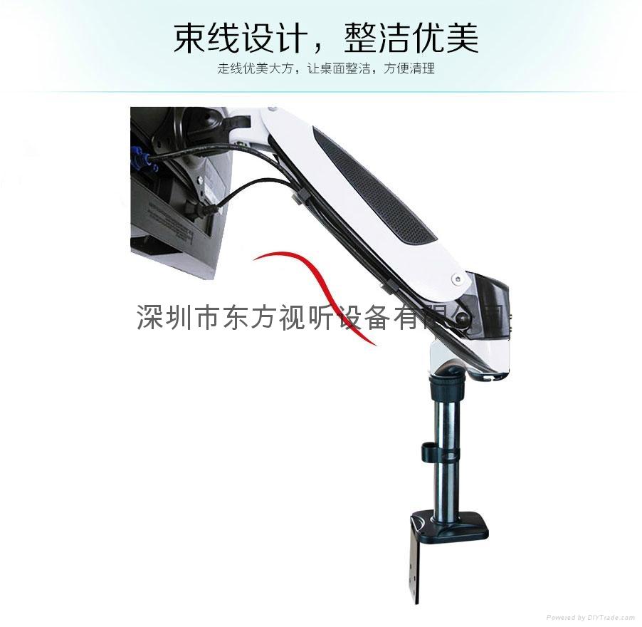 電視支架液晶顯示屏支架桌面通用旋轉電視支架 12