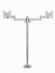 SZP-1Y  LCD bracket Table Mount Double Swing Arms