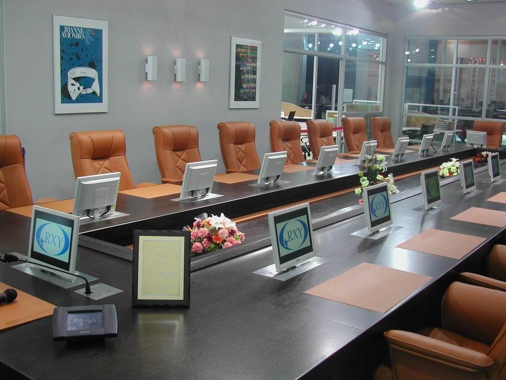 外资企业会议室