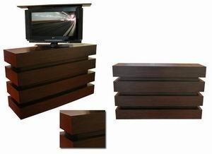 TV床头柜电视遥控升降