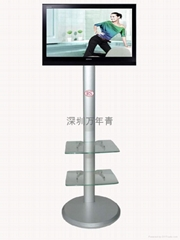 跑步机用电视机支架  健身机支架