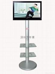 跑步機用電視機支架  健身機支架