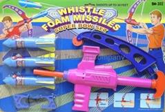 Super Bow Set (Whistle Foam Missiles)