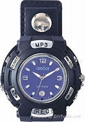FM Watch MP3 Player