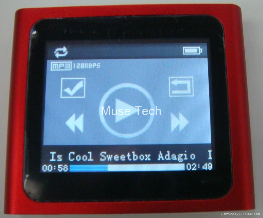 "Newest 1.8"" MP4 Player  4"