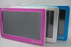 "4.3"" high-clear screen MP4/MP5 Player supporting 720P video"