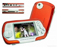 "2.4"" QVGA MP4 Player PSP Game Player 1GB/2GB/4GB"