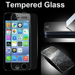 Premium Tempered Glass Film 0.26mm 9H Screen Protector  for iPhone 5 5S 5C