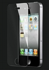 Manufacturer~ High quality Tempered Glass Film for iPhone4,4S Screen Protector