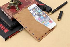 "HOT~PU Leather Case for iPhone 6 4.7"" iPhone 6 plus 5.5"" Leather Pouch"