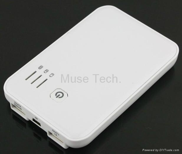 External Battery Charger Portable Backup USB charger Power Bank 5000mah