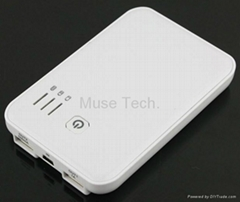 External Battery Charger Portable Backup USB charger Power Bank 5000mah