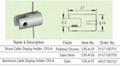 Brass (Aluminium) Cable Display Holder CVS-A