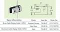Brass (Aluminium) Cable Display Holder CVS-B