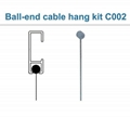 cable display system Ball-end cable hang kit  C002
