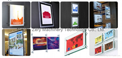 Rectangle display led co