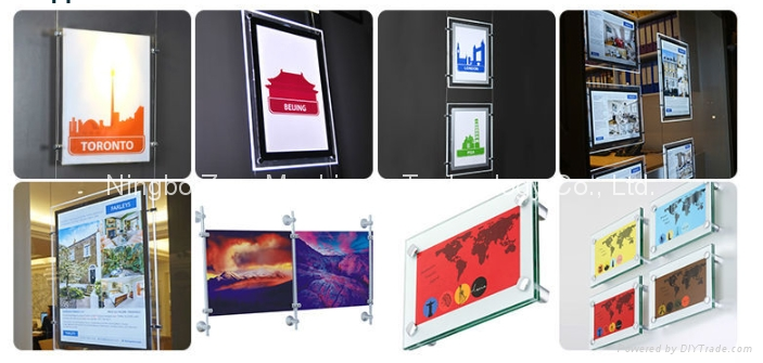 outdoor and indoor LED light box 1