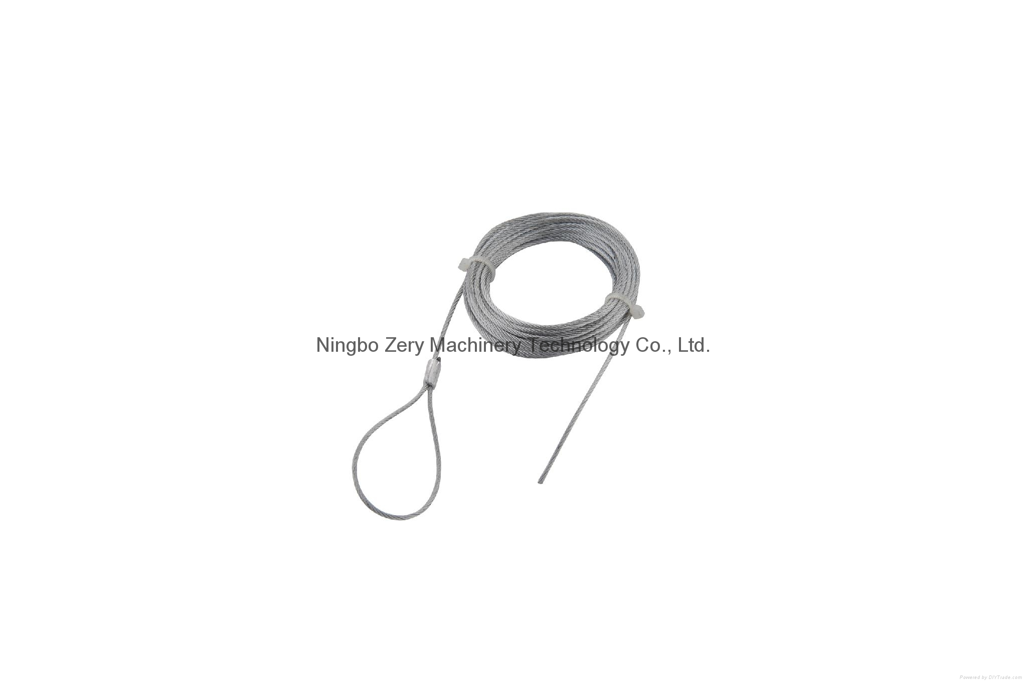 steel wire rope /cable hanging/cable clips/cable ralling 1