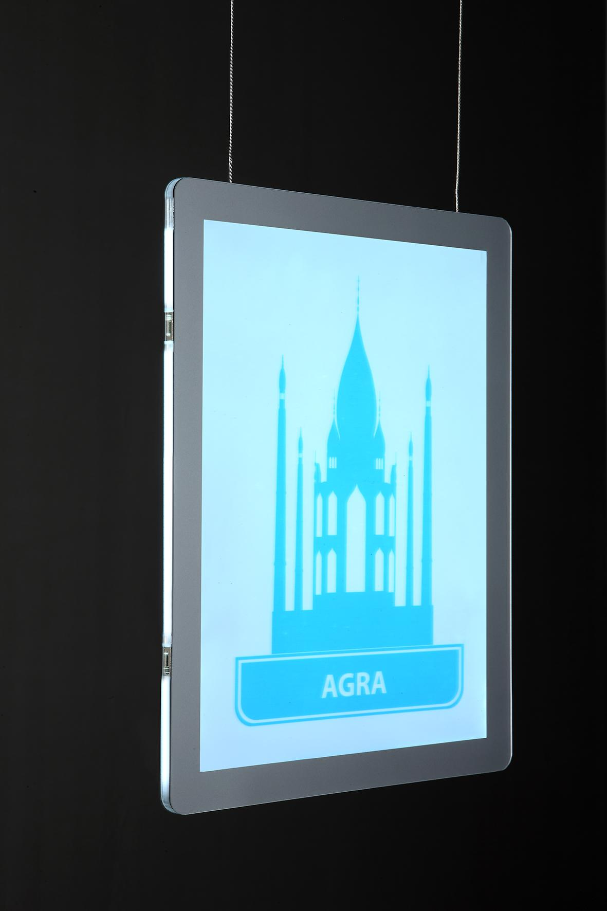 outdoor and indoor LED light box 7