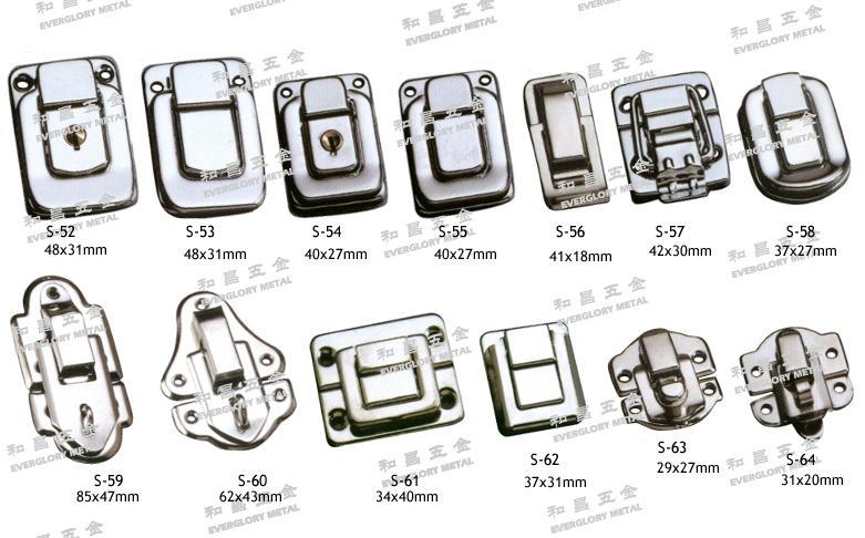 書包扣 皮件 工具 鐵 銅 金屬 鑰匙鎖 五金配件  1