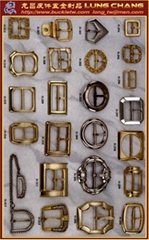 Shoe buckle hardware bag buttons # H-294-H-317