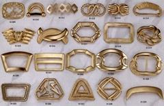metals decorates buckle
