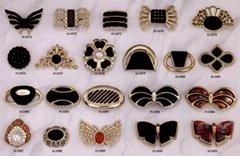 塑膠五金裝飾扣 # H-1071-H-1091