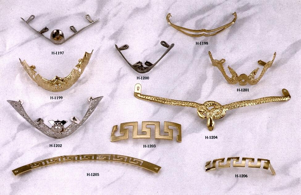 鞋材五金 金属饰片 铁头片  # H-1197-H-1206 1
